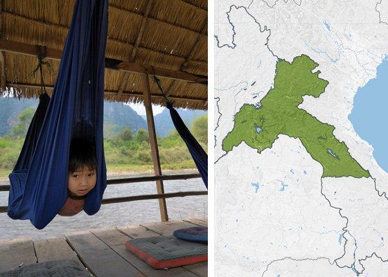 Вьентьян и Ценр Лаоса - регионы Лаоса