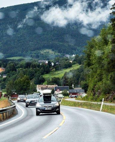 По Норвегии на автомобиле