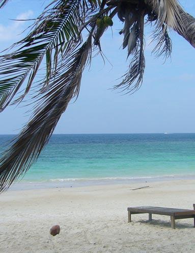 Пляж Хаад Яо на острове Панган