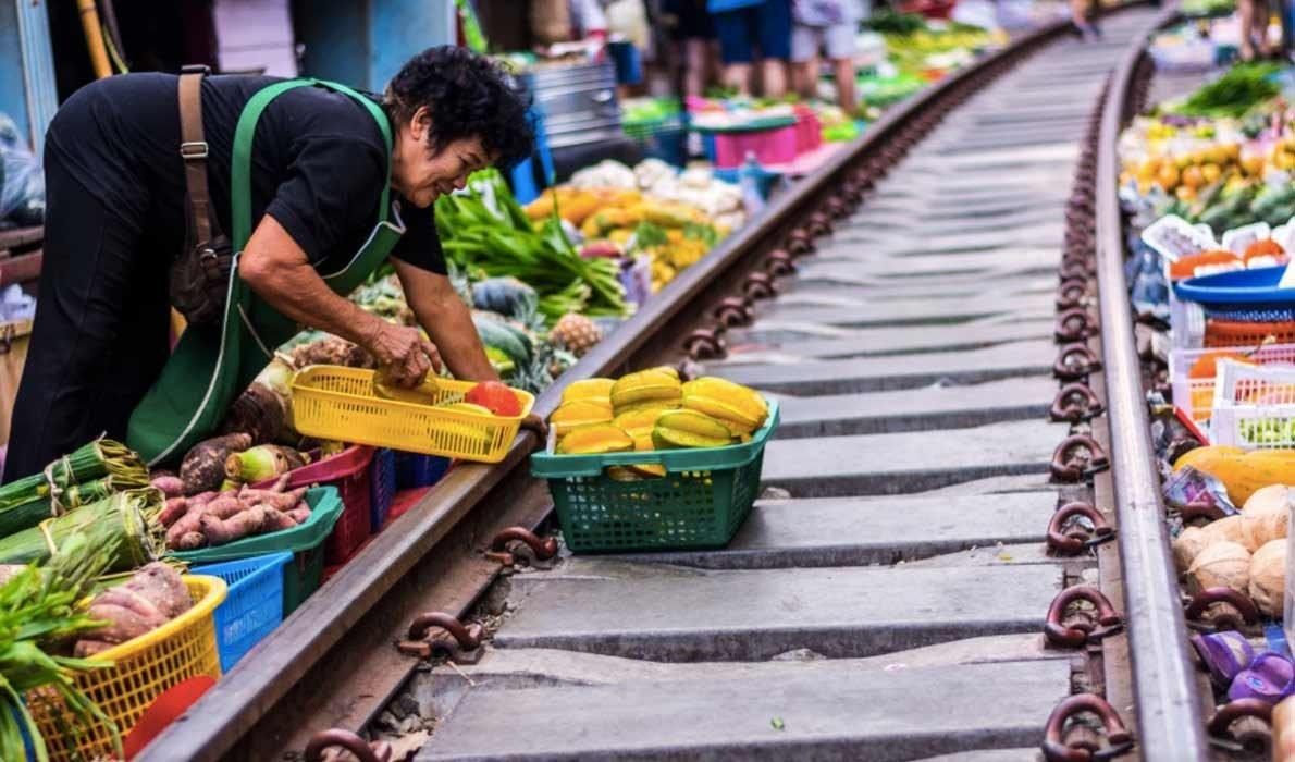 Рынок Меклонг - блоги о путешествиях