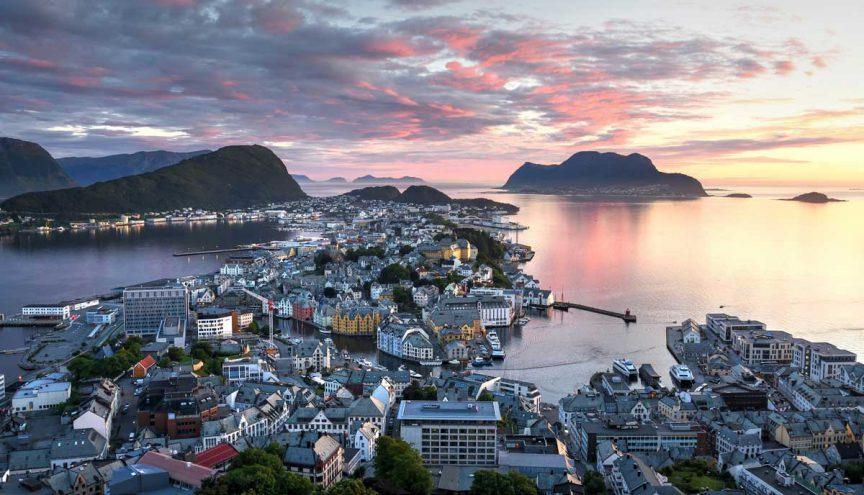 Олессун, Норвегия