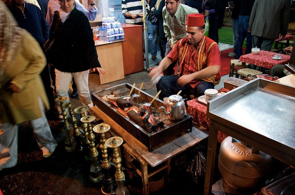 Кофе на углях, Турция