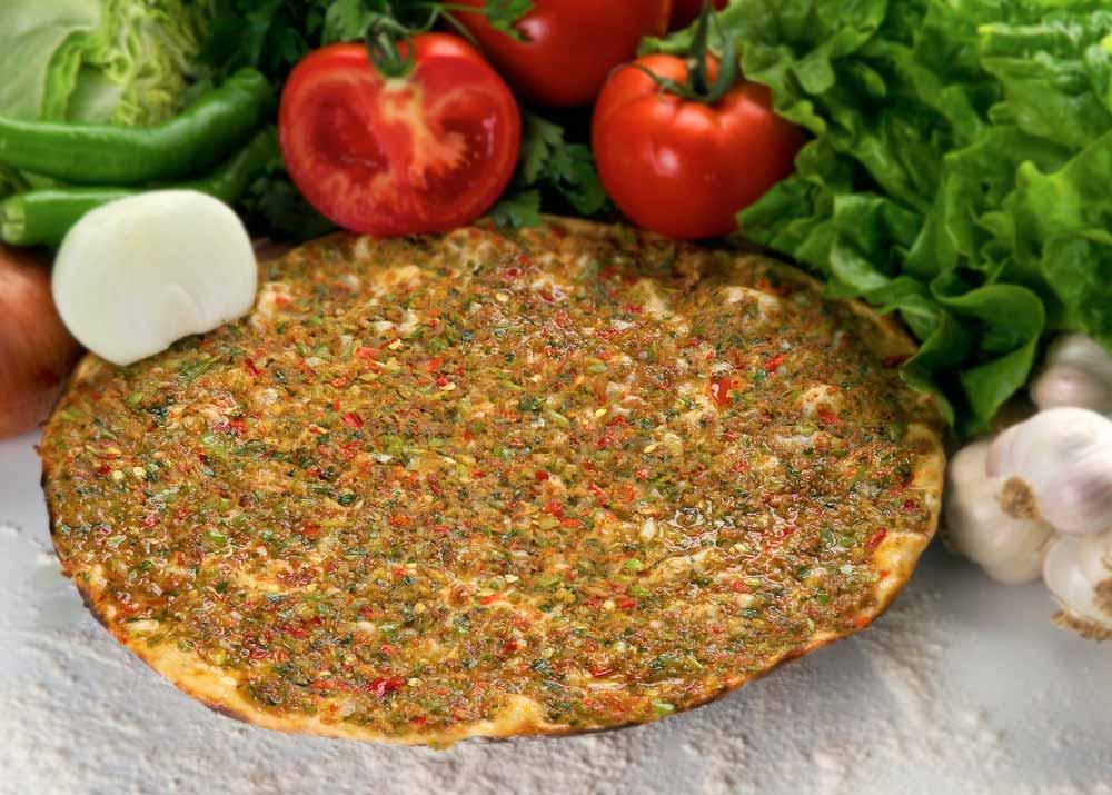 Лахмакун, турецкая пица