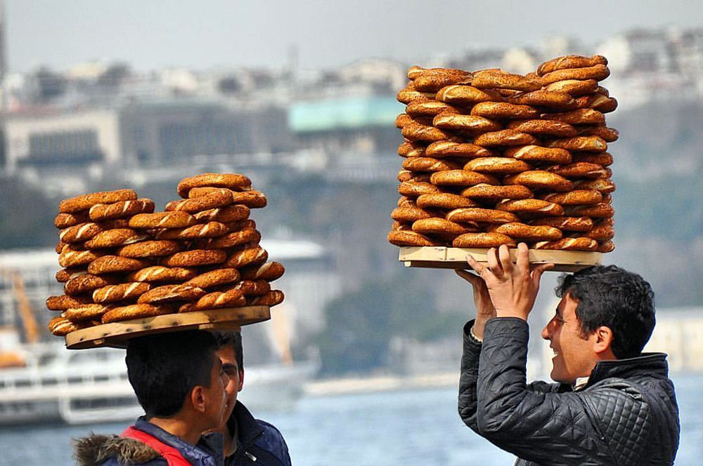 Симит, турецкая выпечка