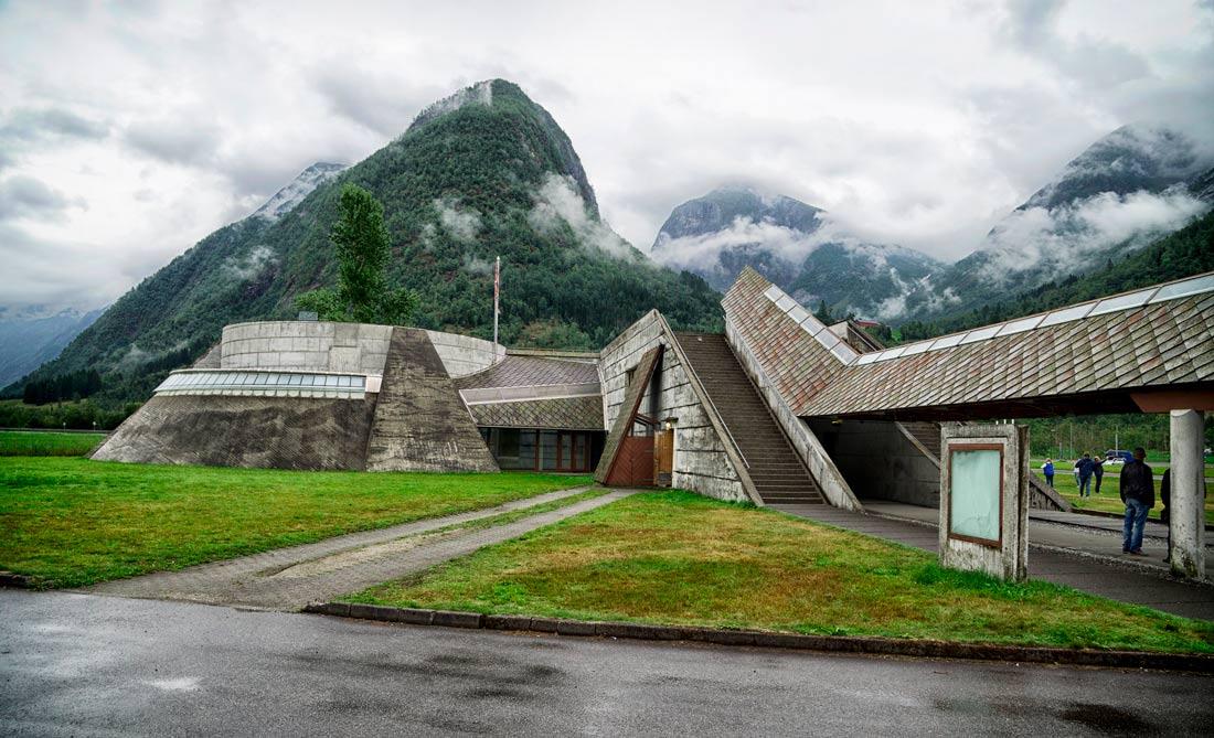 музей ледников - Фьерланд