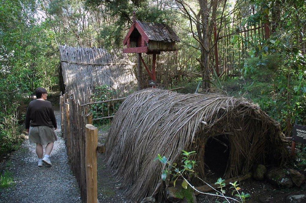 Деревня народности маори