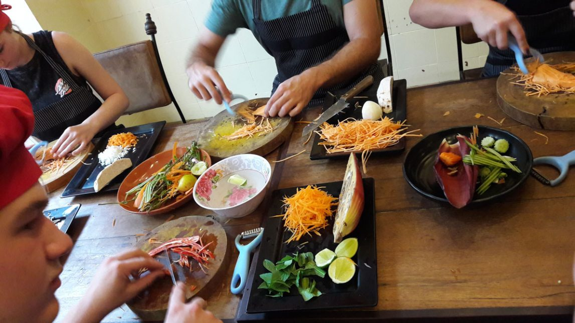 кулинарные курсы в Сиемреап