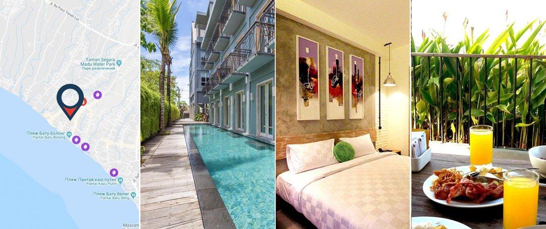 FRii Bali Echo Beach Hotel - Чангу