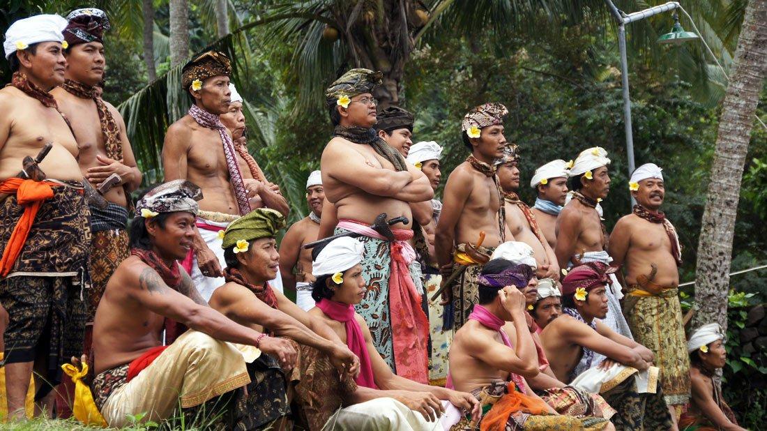 Bali Aga - считающиеся коренными жителями острова