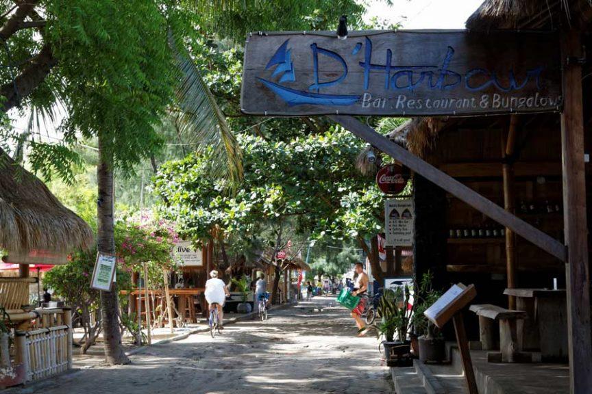 Гили Траванган - центральная улица