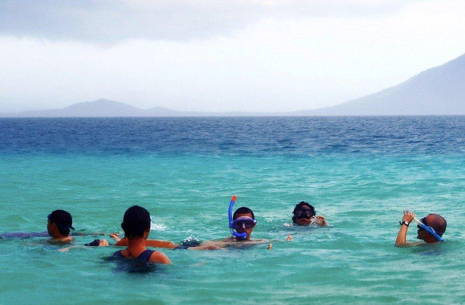 Снорклинг у острова Меджанганг