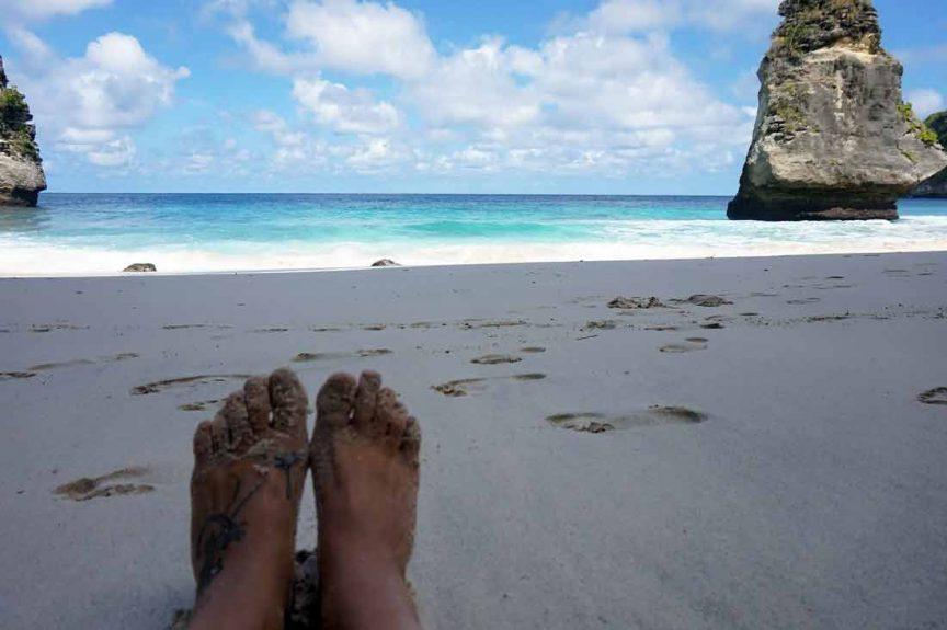 Пляж Suwehan на Пениде