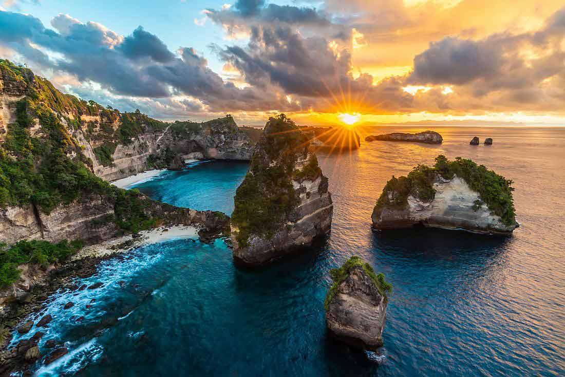 Вьюпойнт Thousand Island на острове Нуса Пенида