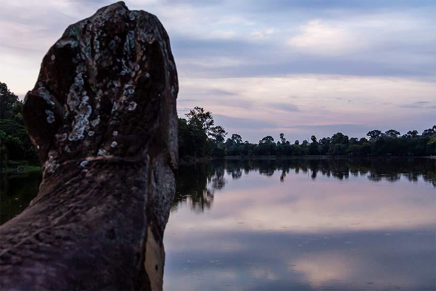 Озеро Сра Сренг (Srah Srang)