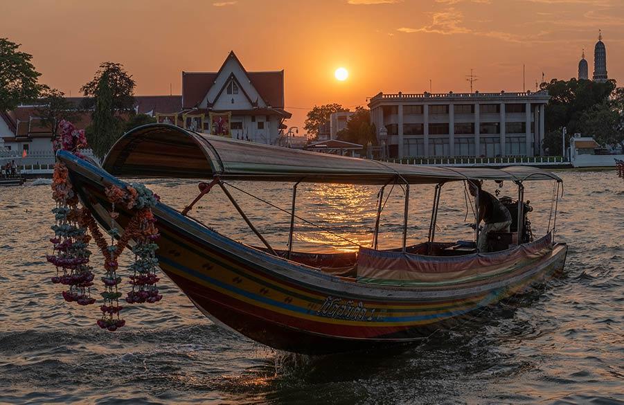 Река Чаопрая, Бангкок