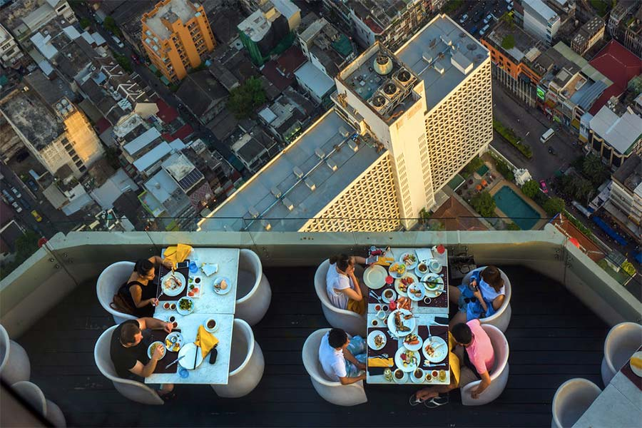 Baiyoke Tower II, Бангкок