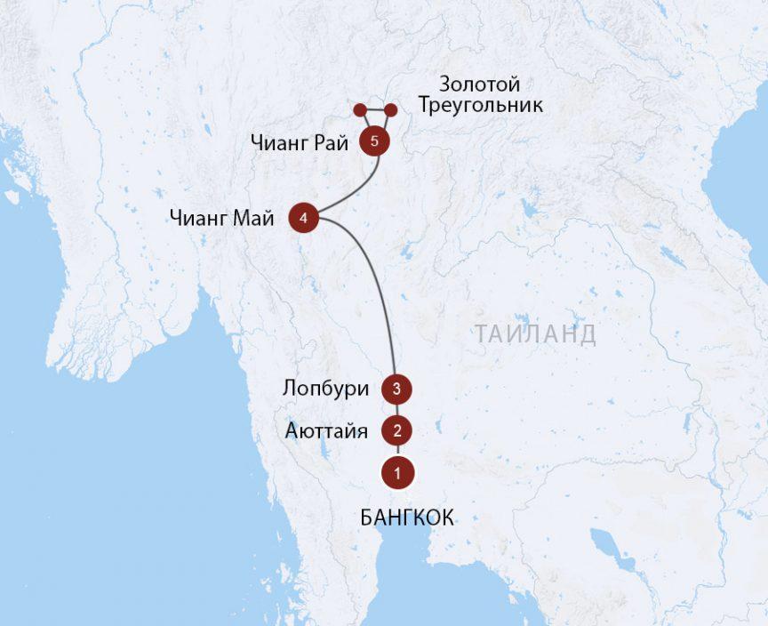 Путешествие по Таиланду, комбинируйте с отдыхом на островах